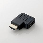 AD-HDAAB04BK [HDMI延長アダプタ L字左 AF-AF ブラック]