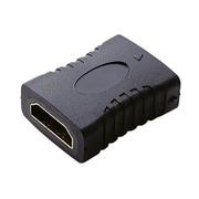 AD-HDAAS01BK [HDMI延長アダプタ ストレート AF-AF ブラック]