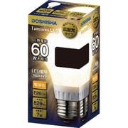 LDOA60L-GF [LED電球 60W相当 フィラメントフロスト球型]