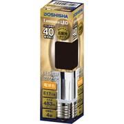 LDOC40L-GM [LED電球 40W相当 フィラメントクリアーシャンデリア球型]