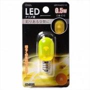 LDT1Y-H-E12 11C [LED電球 E12口金 クリアイエロー 0.5W]