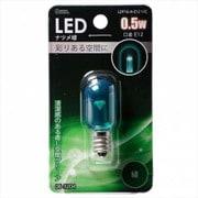 LDT1G-H-E12 11C [LED電球 E12口金 クリアグリーン 0.5W]