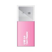 CRW-3SD63P [USB 3.0対応 micro SDカードリーダー ピンク]