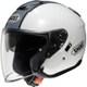 J-CRUISE CORSO L TC-6 WHITE/SILVER [ジェットヘルメット]