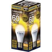 LDAS60L-GM [LED小型電球60W相当 電球色]