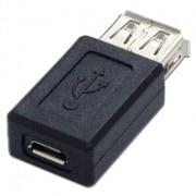 ADV-122 [USB変換アダプタ Micro-Bメス - Aメス]