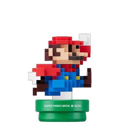 amiibo(アミーボ) マリオ モダンカラー SUPER MARIO BROS. 30thシリーズ [Wii U/New3DS/New3DSLL ゲーム連動キャラクターフィギュア]