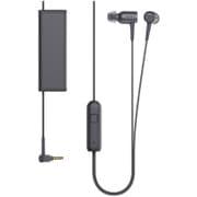 MDR-EX750NA B [ノイズキャンセリングヘッドホン h.ear in NC スマートフォン用リモコン付 チャコールブラック ハイレゾ音源対応]