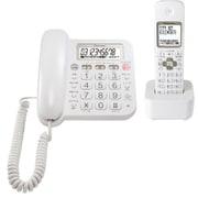 TF-SA15S-W [デジタルコードレス留守番電話機 子機 1個付 ホワイト]