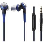 ATH-CKS550i BL [iPod/iPhone/iPad専用 インナーイヤーヘッドホン ブルー]