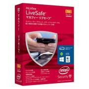 マカフィー リブセーフ 1ユーザー 1年版 [Windowsソフト]