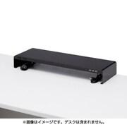 MR-LC202BK [電源タップ+USBポート付き机上ラック W600×D200mm ブラック]