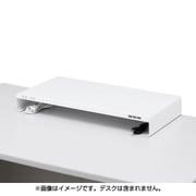 MR-LC203W [電源タップ+USBポート付き机上ラック W600×D300mm ホワイト]