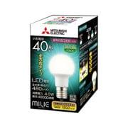 LDA4N-G-E17/40/S-PS [LED電球 E17口金 昼白色 480lm 断熱材施工器具対応 全方向 MILIE(ミライエ)]