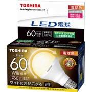 LDA7L-G-E17/S/60W [LED電球 E17口金 電球色]