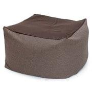 beads-flex-cushion-cbc313-br [フレキシブルビーズクッション 洗濯できるカバー付き ブラウン]