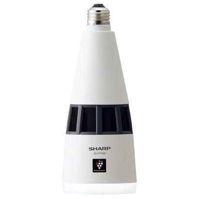 IG-HTA20-W [ニオワンLEDプラス 高濃度プラズマクラスター25000 トイレ用天井設置型イオン発生機 約1畳用 E26 電球色相当 485lm 人感センサー搭載]