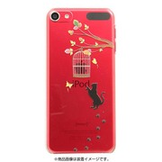 iPT6-P09 [iPod touch 6用ケース +Color キャット]