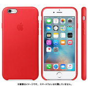 MKXX2FE/A [iPhone 6s用 レザーケース PRODUCT RED]