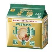 マルちゃん正麺 豚骨味 91g×5食入り [即席袋麺]