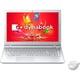 PT55UWP-BWA [dynabook T55 15.6型ワイドFHD/Core i3-6100U/HDD 1TB/ブルーレイドライブ/Windows 10 Home 64ビット/Office H&B Premium プラス Office 365 サービス/リュクスホワイト]
