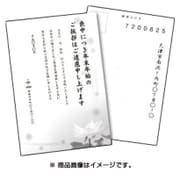 JP-HKRE13N [インクジェット喪中はがき スイレン 25シート]