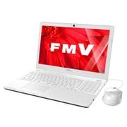 FMVA45XW [LIFEBOOK AHシリーズ AH45/X 15.6型ワイド/Core i3-6100U/メモリ 4GB/HDD 1TB/ブルーレイディスクドライブ/Windows 10 Home 64ビット/Office搭載/プレミアムホワイト]