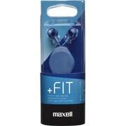MXH-C110RDB [カナル型ヘッドホン「+FiT」シリーズ コード巻き取りリールタイプ ダークブルー]