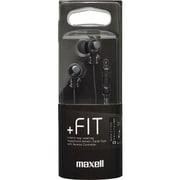 MXH-C110SBK [カナル型ヘッドホン「+FiT」シリーズ スマートフォン対応リモコンタイプ ブラック]