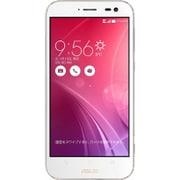 ZX551ML-WH128S4 [Zenfone Zoom Android 5.0搭載 5.5インチ液晶 メモリ4GB 容量128GB SIMフリースマートフォン LTE対応 プレミアムレザーホワイト]
