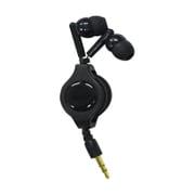 SASP-0338 [PSVita/PSP/New3DSLL/New3DS/スマホ用 巻き取り式コンパクトイヤホン ブラック]