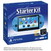 PlayStation Vita Starter Kit Wi-Fiモデル アクア・ブルー [PS Vita本体 PCHJ-10030]