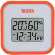 TT-558-OR [デジタル温湿度計 オレンジ]