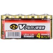 LR14/S4P/V [アルカリ乾電池 単2形 Vシリーズ 4本パック]