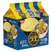 日清 ラ王 つけ麺 濃厚魚介醤油 5食パック 510g [即席袋麺]