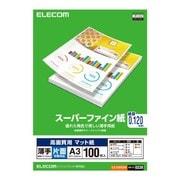 EJK-SUPA3100 [高画質用 スーパーファイン紙 薄手 片面 A3サイズ ホワイト 100枚]