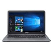 X540LA-SILVER [VivoBook Xシリーズ/15.6型/Core i3-4005U/メモリ 4GB/HDD 500GB/DVDスーパーマルチドライブ/Windows 10 Home 64ビット/KINGSOFT Office 2013 Standard/スチールシルバー]
