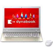 PT45VGX-SJAD [dynabook T45/V Tシリーズ/15.6型ワイド/Celeron 3215U/メモリ8GB/HDD1TB/DVDスーパーマルチドライブ/Windows 10 Home/Office搭載/サテンゴールド/ヨドバシカメラオリジナル]