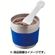 SE720(BL) [真空断熱デザートカップ&スプーン ブルー]