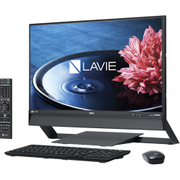 PC-DA970EAB [LAVIE Desk All-in-one DA970/23.8型ワイド/Core i7-6567U/HDD 4TB/8GB/ブルーレイドライブ/Office H&B Premium プラス Office 365 サービス/ブラック]