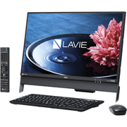 PC-DA570EAB [LAVIE Desk All-in-one DA570/23.8型ワイド/Core i5-6200U/HDD 3TB/4GB/ブルーレイドライブ/Windows 10 Home 64ビット/Office H&B Premium プラス Office365サービス/ブラック]
