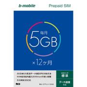 BM-GTPL3-12MS [bモバイル 5GB×12ヶ月SIMパッケージ 標準SIM]
