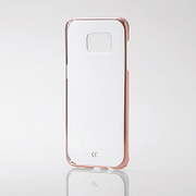 PM-GS7EPVMPN [Galaxy S7 edge用 シェルカバー サイドメッキ ピンク]