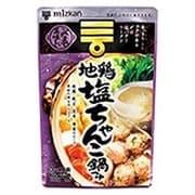 〆まで美味しい 地鶏塩ちゃんこ鍋つゆ ストレート 750g