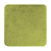 チェアパッド 低反発 角型 35cm グリーン [クッション]