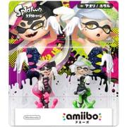 amiibo(アミーボ) シオカラーズセット アオリ/ホタル(スプラトゥーンシリーズ) [Wii U/New3DS/New3DSLL ゲーム連動キャラクターフィギュア]