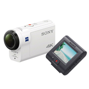 FDR-X3000R W [デジタル4Kビデオカメラレコーダー アクションカム ライブビューリモコンキット ホワイト]