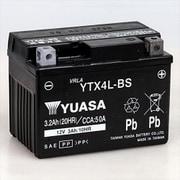 YTX4L-BS 台湾ユアサ [バイク用バッテリー 電解液注入済]