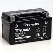 YTX7A-BS 台湾ユアサ [バイク用バッテリー 電解液注入済]
