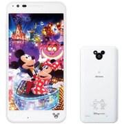Disney Mobile on docomo DM-02H White [スマートフォン ホワイト]
